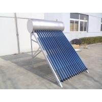 Wholesale Household Use Pressure Solar Water Heater With Integral High Density Polyurethane Foam Insulation from china suppliers