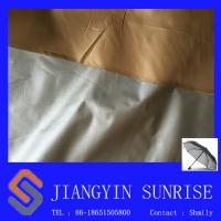 Wholesale Waterproof 100% Polyester Fake Leather Fabric For Rain Gear /  Tent from china suppliers