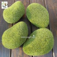 Wholesale UVG preserved artificial moss stones décor rock for garden grass ornaments to planning a wedding GRS040 from china suppliers