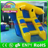 Wholesale Funny inflatable flyfish boat water park boat for leisure water sport game from china suppliers