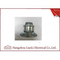 Buy cheap Silver Brass Electrical Wiring Accessories Aluminum Cable Clamp UL Listed from wholesalers