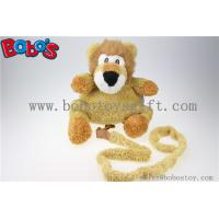 "Wholesale 11.8""Lovely Yellow Plush Lion Children Backpack Children Not Lost Bags Bos-1238/30cm from china suppliers"