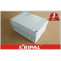 Wholesale Waterproof Outdoor Junction Box IP55 / IP66 , Cable Terminal Junction Box For Lighting from china suppliers