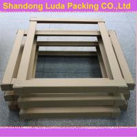 Wholesale brown kraft paper carton corner protector China SHANDONG OEM for pallet from china suppliers