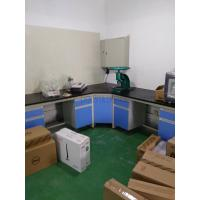 Quality Wood Lab Bench / Phenolic Resin Top Wood Lab Casework  / Steel Wood Lab Wall Bench for sale