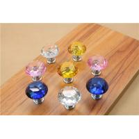 Quality Crystal Door Knobs Cabinet Pulls Drawer Furniture Handles Hardware for sale