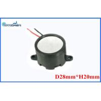 Wholesale Mini Wire Magnetic Buzzer Speaker 28mm 85dB Built-in Drive Circuit  for Security Products from china suppliers