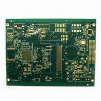 Buy cheap 10 Layered PCB with ENIG Surface Finish, Made of FR4, Used for Communication from wholesalers