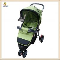 Buy cheap Sit Or Lie Baby Buggy Strollers Adjustable , Three Wheels Baby Jogging Stroller from wholesalers