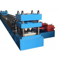 Wholesale 45kW Highway Guard Roll Forming Machinery With 15 Roller Station Gear Box Drive from china suppliers