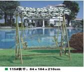 Wholesale garden PE rattan swing chair, synthetic rattan hanging chair, #1115 from china suppliers