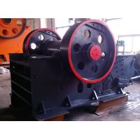 Quality Automatic Discharging Dolomite Flint Jaw Crusher Machine With Impact Protection for sale