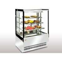 Wholesale Dry Heating Food Display Showcase Square T5 Light Glass Food Warmer Display Case from china suppliers