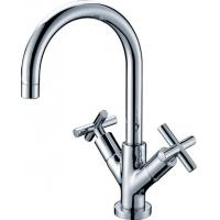 Wholesale Modern Deck Mounted Kitchen Sink Water Faucet , Solid Brass Kitchen Taps from china suppliers