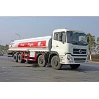 Quality Dongfeng 8x4 310HP Carbon Steel Crude Oil Transportation Trucks 24500L for sale