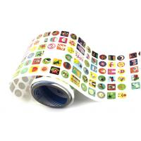 Wholesale Lovely Small Create Vinyl Stickers Custom PVC Labels Removable For Kids from china suppliers
