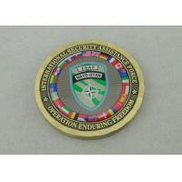 Wholesale 2.0 Inch ISAF NATO OTAN Personalized Coins By Die Casting And Gold Plating from china suppliers