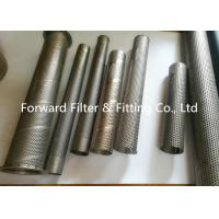 Wholesale Punching Automotive Perforated Exhaust Tubing , Water Treatment Perforated Filter Tube from china suppliers