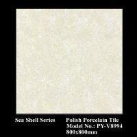 Buy cheap sea shell series polish tiles PY-V8994 from wholesalers