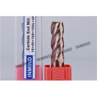Buy cheap Long 4 Flute Carbide Square End Mill CNC Machine Cutting Tool from wholesalers