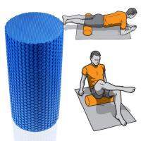 Wholesale Yoga Foam Roller with Hexangular Textured EVA foam from china suppliers