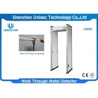 Wholesale Infrared Design Sound Alarm Door Frame Metal Detector For Security Checking from china suppliers