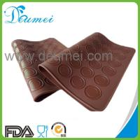 Wholesale FDA Approved Food Grade Heat Resistant 48-Capacity Silicone Macarons Baking Mat from china suppliers
