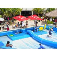 Wholesale Outdoor Aqua Play Flowrider Water Ride For Skateboarding Surfing Sport from china suppliers