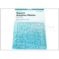 Wholesale Kearing Aviation Supplies Plastic Square Aviation Plotter Customized logo from china suppliers