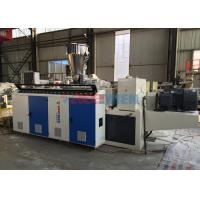 Wholesale 840mm / 1130mm PVC Corrugated Tile Twin Screw Extruder Machine 55kw + 15kw from china suppliers