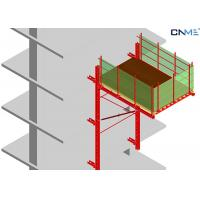 Wholesale High Efficient Rail Guided Crane Loading Platform To Reposition Table Formwork from china suppliers