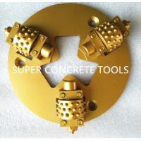 Wholesale HTC Ravager Bush Hammer Plate For Concrete Floor Coating Removal Exposed Rain Slab from china suppliers
