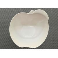 Wholesale Apple Shape Melamine Dinnerware Bowl Diameter 15cm Weight 154g White Porcelain Bowl from china suppliers
