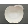 Buy cheap Apple Shape Melamine Dinnerware Bowl Diameter 15cm Weight 154g White Porcelain Bowl from wholesalers