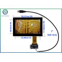 "Wholesale USB 7"" Capacitive Touch Screen , ITO Glass Cover Lens Multi-Touch Panel For Intelligent Appliances from china suppliers"
