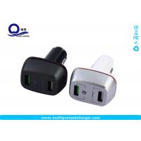 Buy cheap 27W qualcomm quick charge 3.0 samsung car charger Dual small usb for Samsung galaxy s8 s7 from wholesalers
