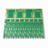 Wholesale OSP Prototype PCB Board Immersion Gold Solder Mask Green , Double Sided PCB from china suppliers