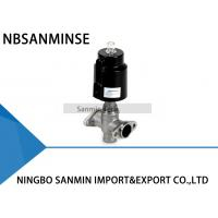 Buy cheap Pneumatically Operated 3 - Way Angle Seat Valve , Manifold Valve Type JDF1300 from wholesalers