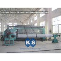 Wholesale Hexagonal Wire Netting Machine For Gabion Mesh Of Various Widths And Mesh Sizes from china suppliers