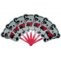 Wholesale Variety  Colors Printed PP Hand Fans For Promotion  , Animal Shaped Pretty Hand Fans from china suppliers