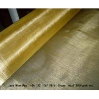 Wholesale Plain Weave Brass Filter Wire Mesh/Wire Cloth Used for Making Filters from china suppliers