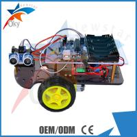 Wholesale DIY 2WD Smart Toy Robot Car Chassis HC - SR04 Ultrasonic Intelligent Car from china suppliers