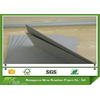 Wholesale Recycled Stiffness Paper Hard 1250gsm Solid Grey Paperboard for Matte Book Cover from china suppliers