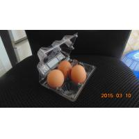 Buy cheap 4 egg packaging plastic tray from wholesalers