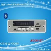 Buy cheap JK0061BT  Bluetooth aux sd card usb fm module mp3 player circuit board from wholesalers
