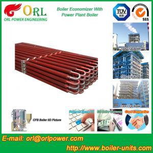 Quality Power Plant CFB Boiler Economizer Silver Boiler Spare Part For Petroleum Industry for sale