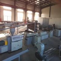 Buy cheap High Intensity Electric Thread - Passing Pipes Plastic Extruder Machine With Ce Certificate from wholesalers