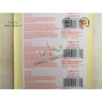 Wholesale Custom Printed Labels With UPC Barcode Strong Adhesive For Clothes Packing from china suppliers