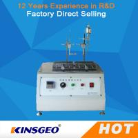 Buy cheap Thermal Deformation Friction Testing Equipment Alcohol Abrasion Tester 310×200 Mm from wholesalers
