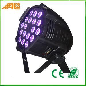 Wholesale New Par Can Light 18pcs 15w Rgbwa Uv 6in1 Led Par Disco Stage Light / Dmx Par Light from china suppliers